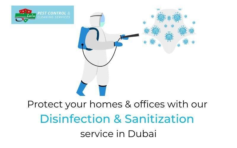 Sanitization & Disinfection Dubai